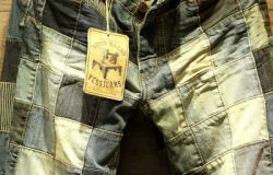 Patch work Jean Marble Wash